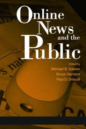 Online News and the Public: 1st Edition (Paperback) book cover