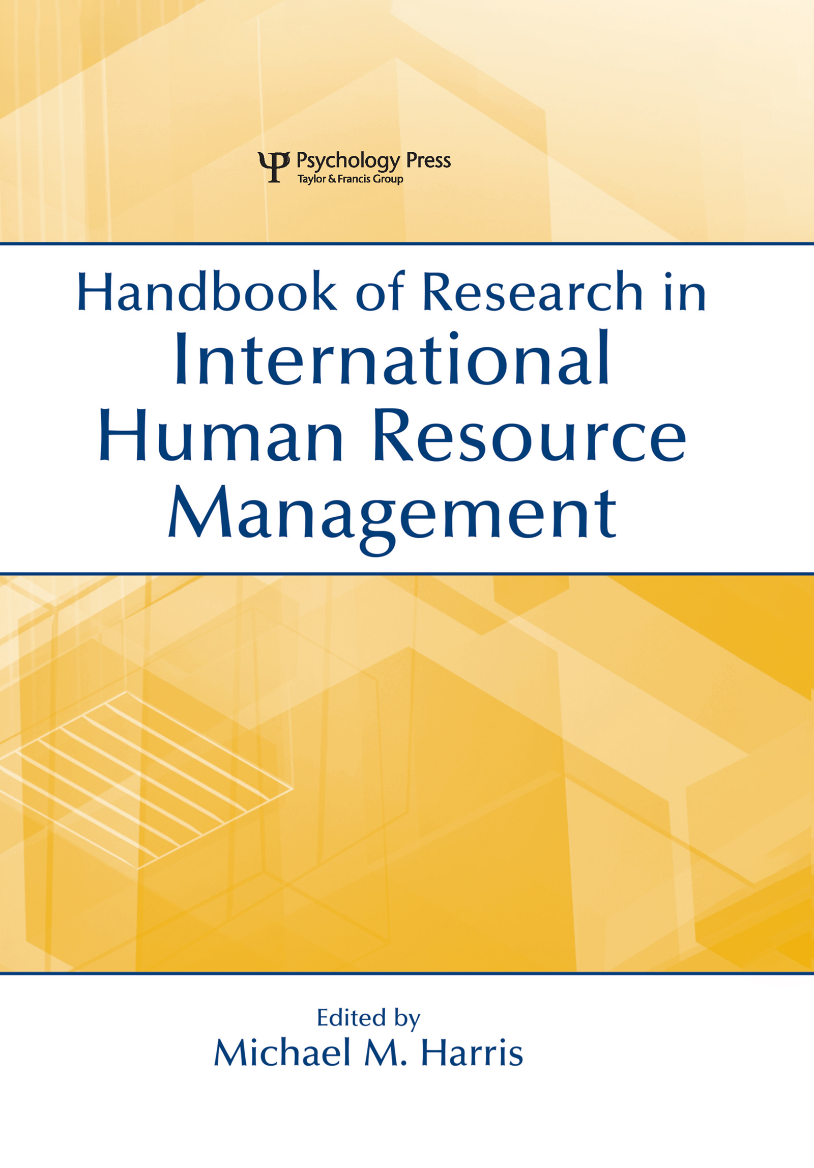 Handbook of Research in International Human Resource Management book cover