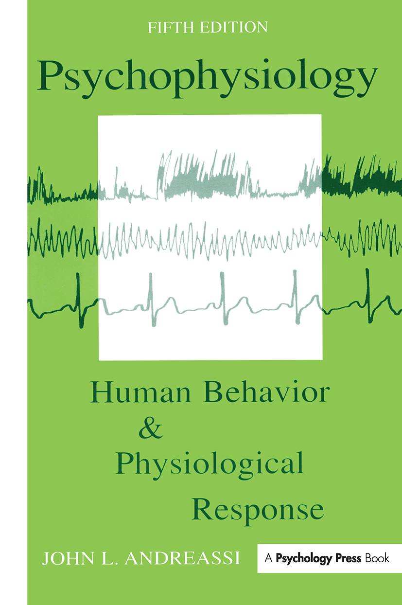 Psychophysiology: Human Behavior and Physiological Response book cover