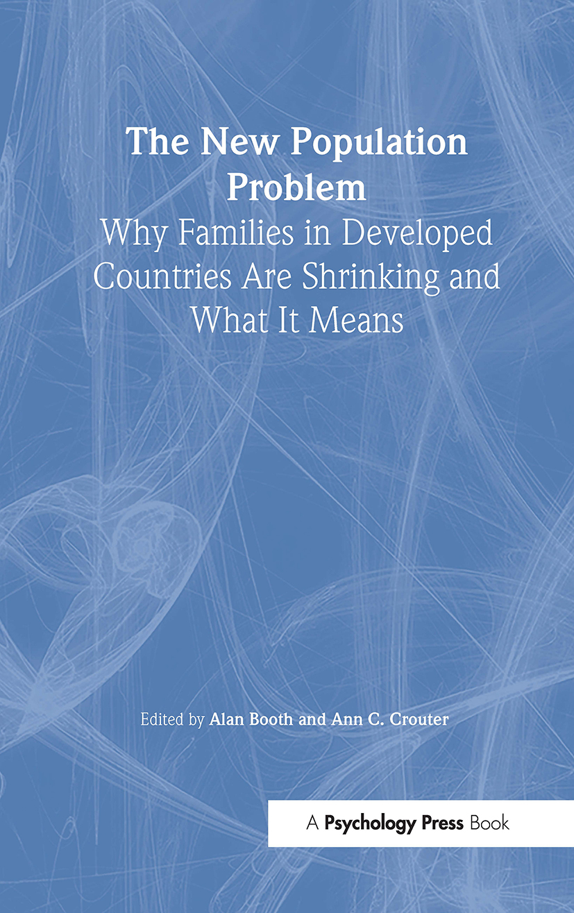 The New Population Problem: Why Families in Developed Countries Are Shrinking and What It Means book cover