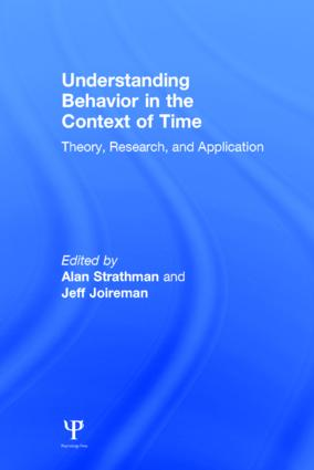 Understanding Behavior in the Context of Time: Theory, Research, and Application (Hardback) book cover