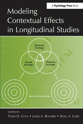 Modeling Contextual Effects in Longitudinal Studies: 1st Edition (Hardback) book cover