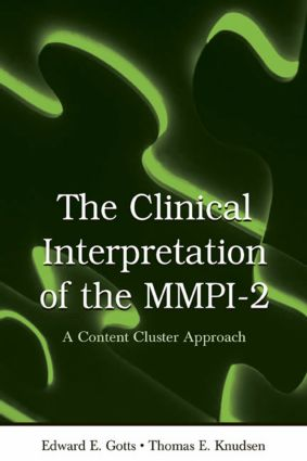 The Clinical Interpretation of MMPI-2: A Content Cluster Approach (Hardback) book cover