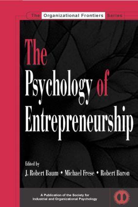 The Psychology of Entrepreneurship (Hardback) book cover