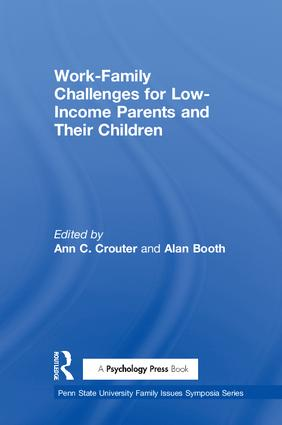 Work-Family Challenges for Low-Income Parents and Their Children (Paperback) book cover