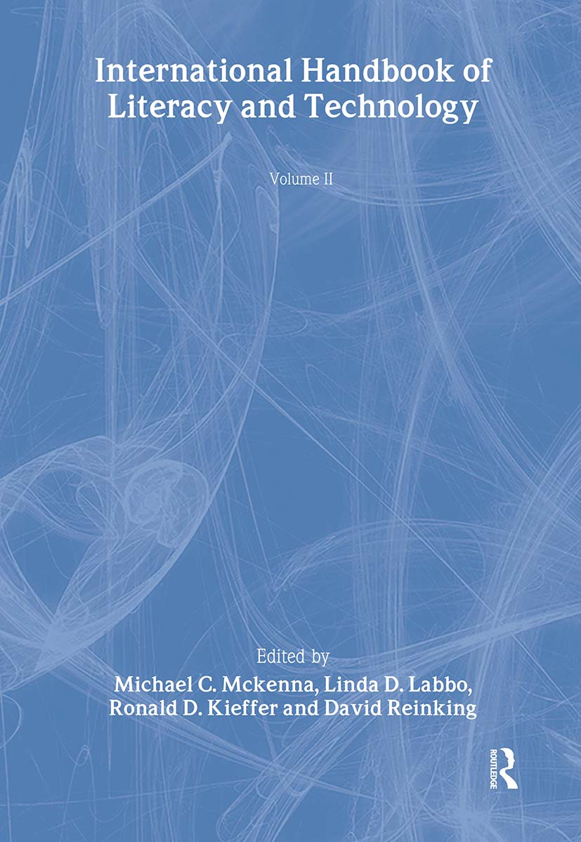 International Handbook of Literacy and Technology: Volume II, 1st Edition (Hardback) book cover