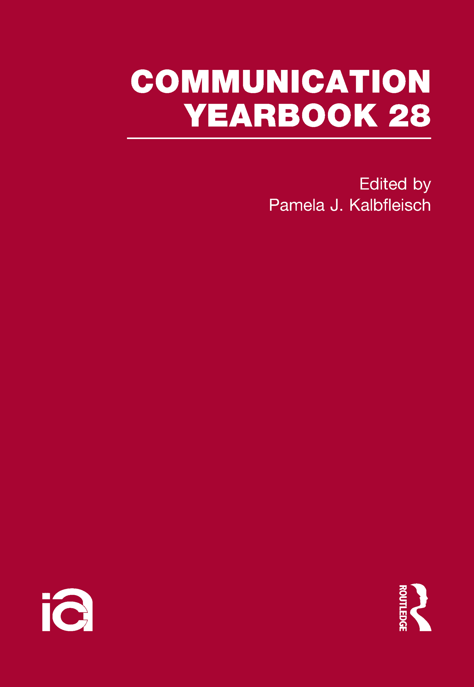 Communication Yearbook 28: 1st Edition (Hardback) book cover