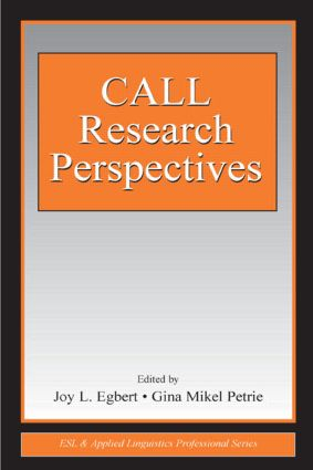 CALL Research Perspectives