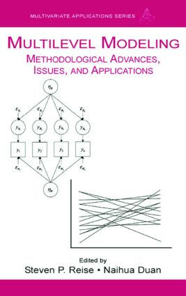 Multilevel Modeling: Methodological Advances, Issues, and Applications (Paperback) book cover