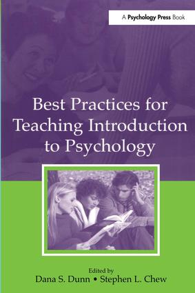 Best Practices for Teaching Introduction to Psychology (Paperback) book cover