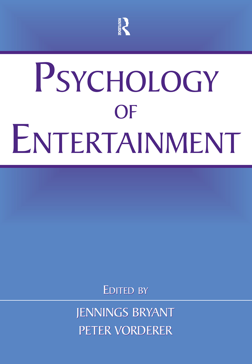 Psychology of Entertainment (Paperback) book cover