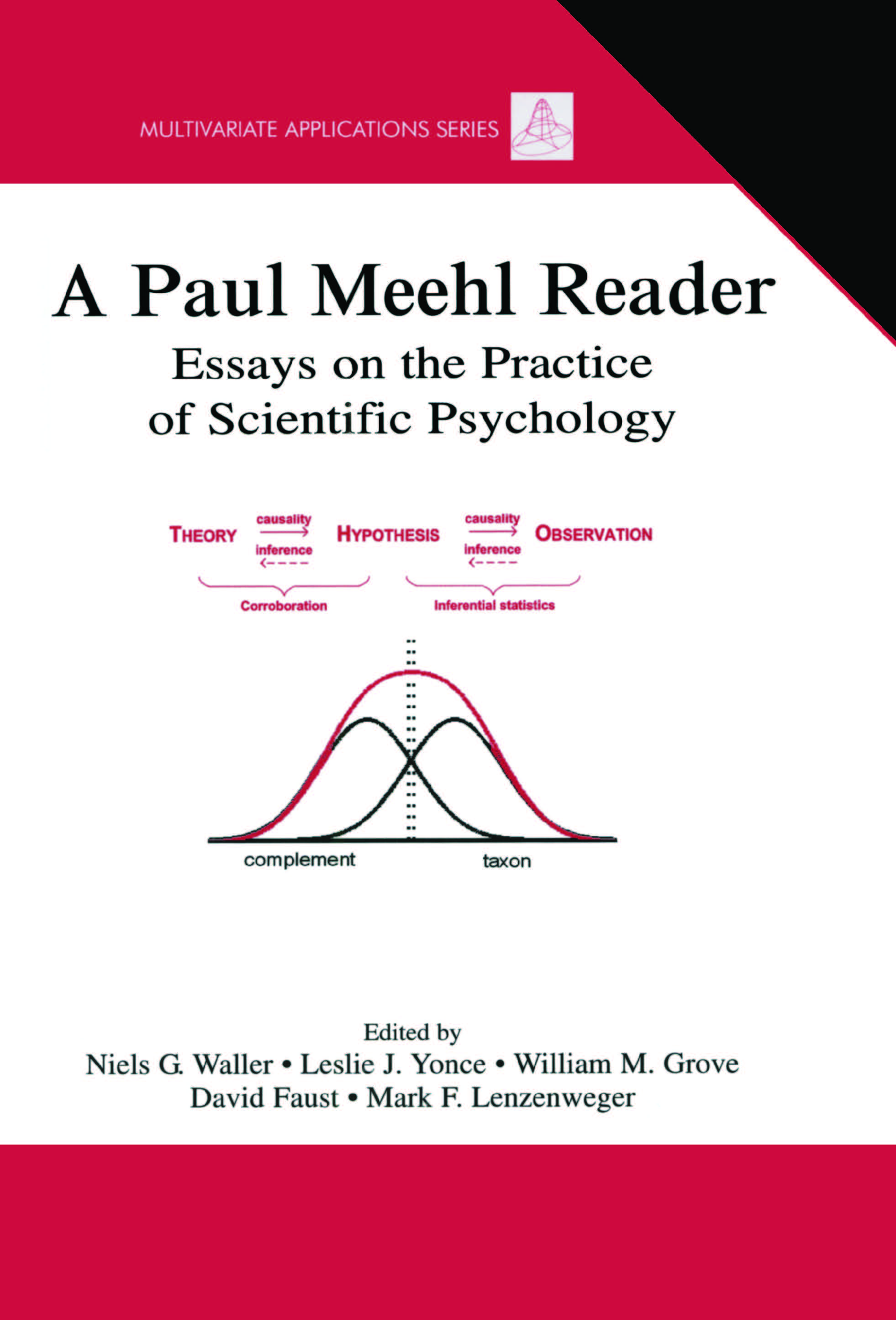 A Paul Meehl Reader: Essays on the Practice of Scientific Psychology (Hardback) book cover