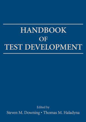 Handbook of Test Development (Paperback) book cover