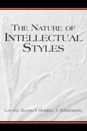 The Nature of Intellectual Styles (Paperback) book cover