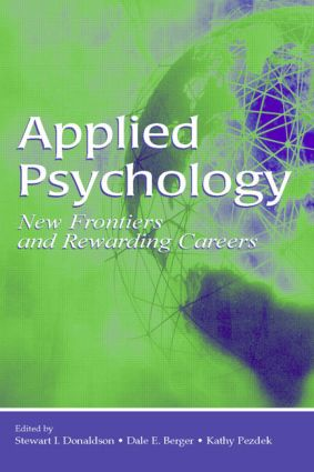 Applied Psychology: New Frontiers and Rewarding Careers (Paperback) book cover