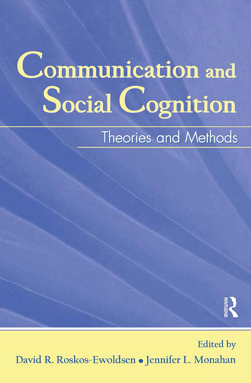 Communication and Social Cognition: Theories and Methods (Hardback) book cover