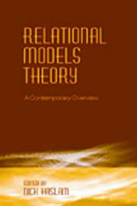 Relational Models Theory: A Contemporary Overview, 1st Edition (Paperback) book cover