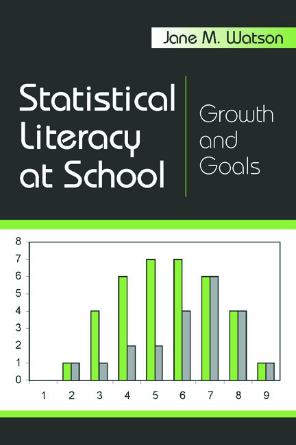 Statistical Literacy at School: Growth and Goals book cover