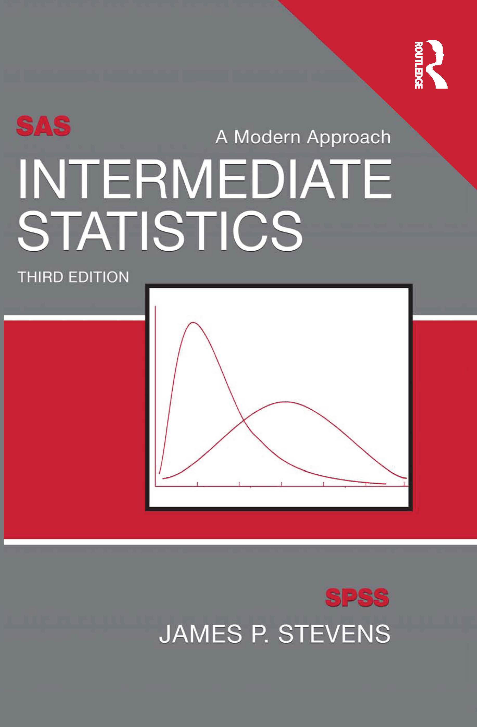 Intermediate Statistics: A Modern Approach, Third Edition, 3rd Edition (Paperback) book cover