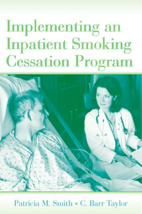 Implementing an Inpatient Smoking Cessation Program (Hardback) book cover