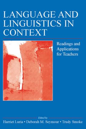 Language, Literacy, and Culture: Intersections and Implications: Sonia Nieto