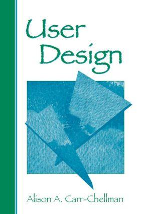 User Design: 1st Edition (Paperback) book cover