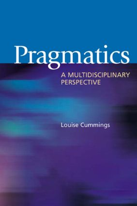 Pragmatics: A Multidisciplinary Perspective (Paperback) book cover