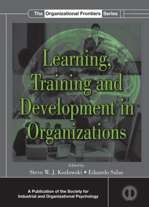 Learning, Training, and Development in Organizations (Hardback) book cover