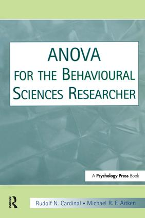 ANOVA for the Behavioral Sciences Researcher: 1st Edition (Hardback) book cover