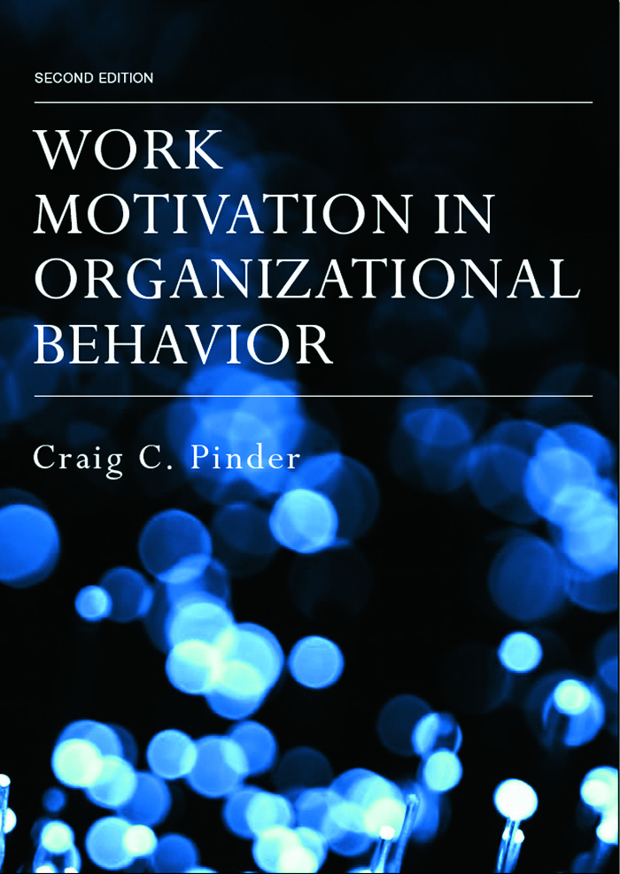 Work Motivation in Organizational Behavior, Second Edition: 2nd Edition (Hardback) book cover