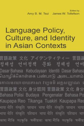 Language Policy, Culture, and Identity in Asian Contexts: 1st Edition (Paperback) book cover
