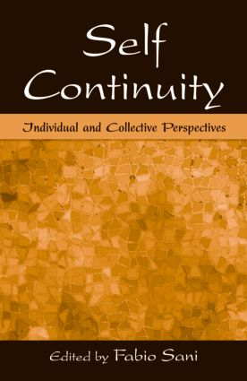 Self Continuity: Individual and Collective Perspectives (Hardback) book cover