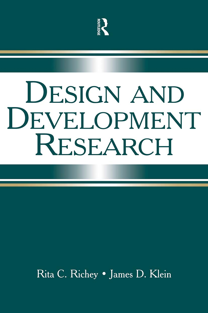 Design and Development Research: Methods, Strategies, and Issues, 1st Edition (Paperback) book cover