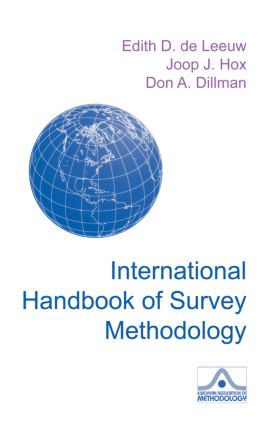 International Handbook of Survey Methodology (Hardback) book cover