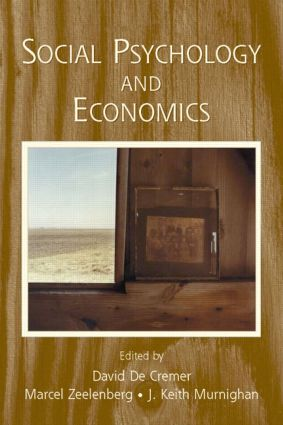Social Psychology and Economics (Paperback) book cover