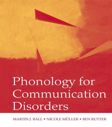 Phonology for Communication Disorders (Paperback) book cover