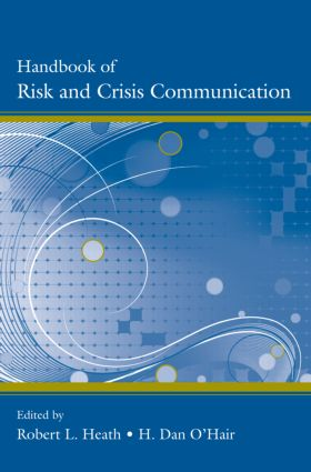 Handbook of Risk and Crisis Communication (Hardback) book cover