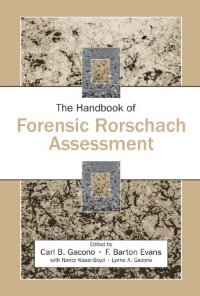 The Handbook of Forensic Rorschach Assessment (Hardback) book cover