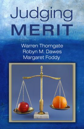 Judging Merit (Hardback) book cover