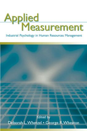 Applied Measurement: Industrial Psychology in Human Resources Management (Hardback) book cover