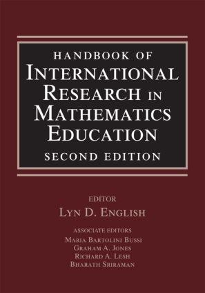 Handbook of International Research in Mathematics Education: 2nd Edition (Hardback) book cover