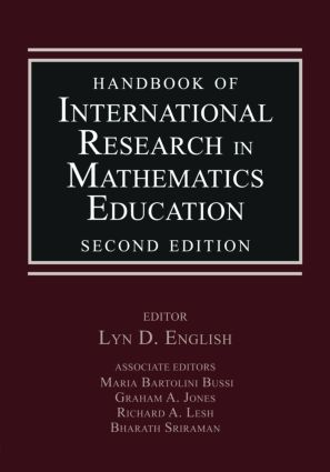 Handbook of International Research in Mathematics Education: 2nd Edition (Paperback) book cover
