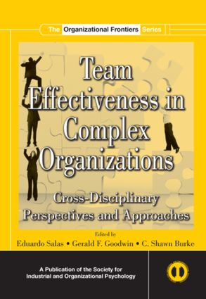 Team Effectiveness In Complex Organizations: Cross-Disciplinary Perspectives and Approaches (Hardback) book cover