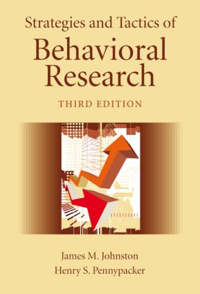 Strategies and Tactics of Behavioral Research: 3rd Edition (Hardback) book cover