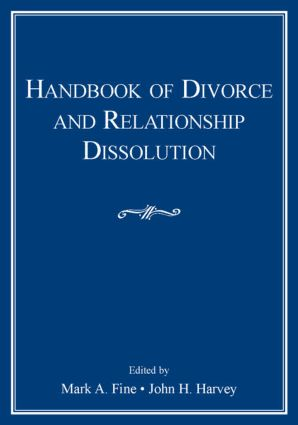 Handbook of Divorce and Relationship Dissolution (Paperback) book cover