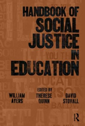 Handbook of Social Justice in Education book cover