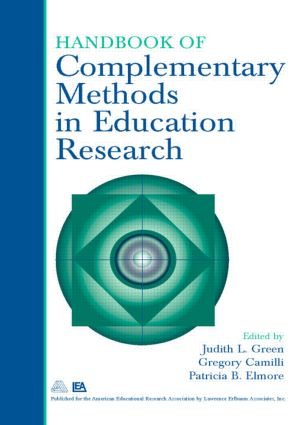 Handbook of Complementary Methods in Education Research: 3rd Edition (Paperback) book cover