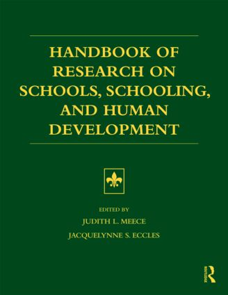 Handbook of Research on Schools, Schooling and Human Development (Paperback) book cover