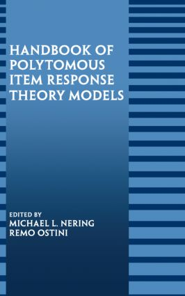 Handbook of Polytomous Item Response Theory Models book cover