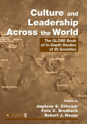 Culture and Leadership Across the World: The GLOBE Book of In-Depth Studies of 25 Societies book cover